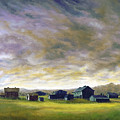 Field Of Green  18x24   by Tony Scarmato