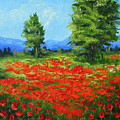 Field Of Poppies IIi by Torrie Smiley