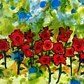 Field Of Poppies by Lyn Hayes