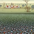 Field Of Wildflowers by Ferenc Pataki