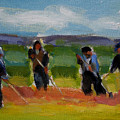 Field Workers In Watsonville - Study by Merle Keller