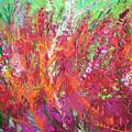 Fiery Meadow by Adriana Dziuba