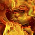 Fiery Mist by Michal Boubin