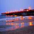 Fiery Pier by Phil Burton