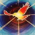 Fiery Raven by Gary Michael Evans