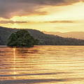 Fiery Sky In The Lakes by James Billings