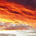 Fiery Sky by Les Cunliffe