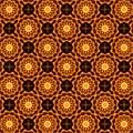 Fiery Sunflower Wallpaper by M E Cieplinski