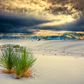 Fiery Sunrise At White Sands by Rikk Flohr