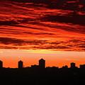 Fiery Sunrise by Stephanie Moore