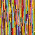 Fiesta Abstract by Katherine Oliver