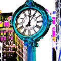 Fifth Avenue Building Clock New York  by Marianna Mills