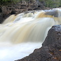 Fifth Falls Gooseberry River by Larry Ricker