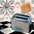 Fifties Kitchen Toaster by Mindy Sommers