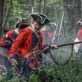 Fight In The Forest Bushy Run 1763 by Randy Steele