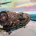 Fighter Jet Engine by Thomas Woolworth