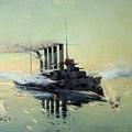 Fighting On July In The Yellow Sea by Konstantin Veshchilov