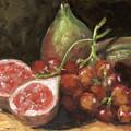 Figs And Grapes by Edward Mallory