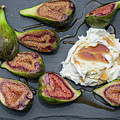 Figs Dessert With Mascarpone by Patricia Hofmeester