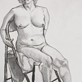 Figure Drawing by Jean Haynes