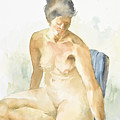 Figure Sitting by Eugenia Picado