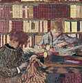 Figures In An Interior by Edouard Vuillard