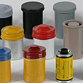 Film Cans by Alan Thwaites