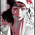Film Homage Collage Eugene Robert Richee Photo Clara Bow 1 Circa 1927-2013 by David Lee Guss