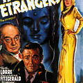 Film Noir Poster Three Strangers by R Muirhead Art