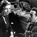 Film Noir Publicity Photo #2 Bogart And Bacall The Big Sleep 1945-46 by David Lee Guss