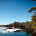 Final Winter Days On The Moose River by David Patterson