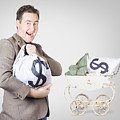 Finance And Money Growth Concept by Jorgo Photography - Wall Art Gallery