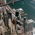 Financial District Nyc Aerial Photo by David Oppenheimer