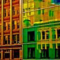 Financial District by Scott L Holtslander
