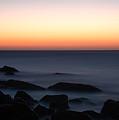 Fine Art - Sunset On The Water by Jenny Potter