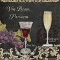 Fine French Wines - Vins Beaux Parisiens by Audrey Jeanne Roberts