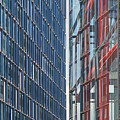 Fine Line Between Buildings by Martine DF