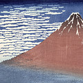 Fine Weather With South Wind by Hokusai