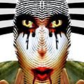 Fingerprint Mask by Rafael Salazar