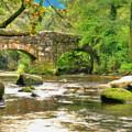 Fingle Bridge - P4a16013 by Dean Wittle
