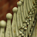Finials All In A Row by Cate Franklyn
