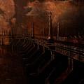 Fire At Diablo by Jeff Burgess