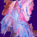Fire Bird Digital by Gladiola Sotomayor
