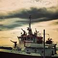 Fire Boat by LeLa Becker