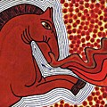 Fire Breathing Horse by Sarah Loft