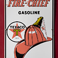 Fire-chief Sign by Stephen Stookey
