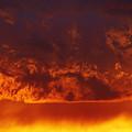 Fire Clouds by Michal Boubin