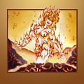 Fire Elemental by Melissa A Benson