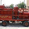Fire Engine Of Older Years  by Adam Schneider