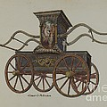 Fire Engine Pumper by Elmer G. Anderson